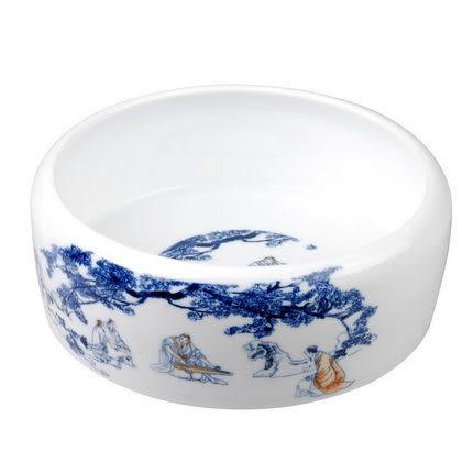 高白瓷青花瓷大茶洗(單一價格/雲水謠/高山流水)