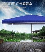 戶外遮陽傘-溪達太陽傘遮陽傘大雨傘擺攤商用超大號戶外大型擺攤傘四方長方形 YYS 花間公主