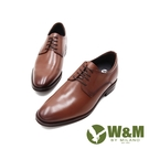 W&M(男)造型紋商務內增高皮鞋 男鞋 - 咖(另有黑)