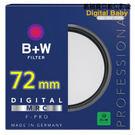 送濕式拭鏡紙  B+W MRC UV 72mm F-Pro (010) 抗UV濾鏡 多層鍍膜保護鏡 (捷新公司貨,保證正品)