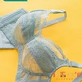 內衣女夏季薄款bra大胸顯小無鋼圈文胸大碼全罩杯無海綿超薄胸罩【倪醬小鋪】