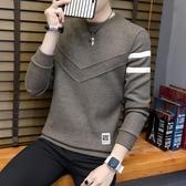 毛衣2020秋冬季男士毛衣加厚圓領套頭線衫長袖男裝針織打底衫春季新品