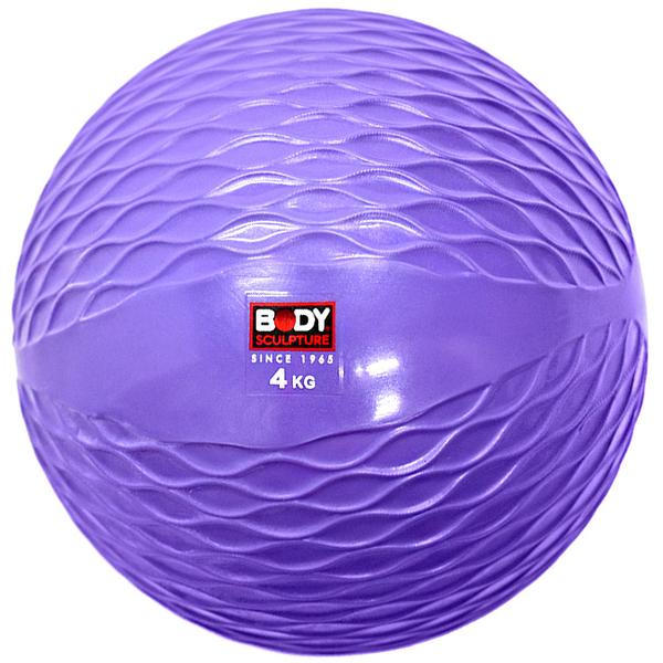 4公斤軟式藥球.健身球啞鈴訓練4KG彈力球砂球.沙包沙袋Toning Ball呆球推薦哪裡買ptt【BODY SCULPTURE】