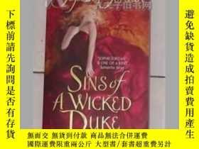 二手書博民逛書店《罕見Sins of a Wicked Duke 》Sophie