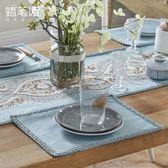 棉麻茶巾餐墊餐巾美式歐式現代餐桌布套裝  極度潮客