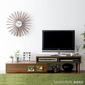 日式簡約電視櫃實木可伸縮折疊多功能儲物小戶型電視櫃地櫃tv櫃 新品全館85折 YTL