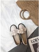 英倫小皮鞋女春季新款學生韓版百搭平底學院風單鞋軟妹女鞋子新年交換禮物