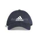 adidas 老帽 6P CAP COTTON 經典 男女款 帽子 棒球帽 遮陽 防曬 運動 休閒 電繡 深藍 白 【PUMP306】 DT8563
