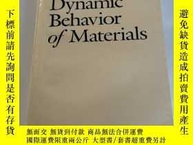二手書博民逛書店Dynamic罕見Behavior of MaterialsY2