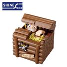【日本正版】航海王 魯夫 偷錢箱 存錢筒 儲金箱 小費箱 ONE PIECE 海賊王 SHINE - 371072