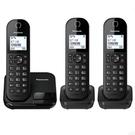 Panasonic國際牌 DECT數位無線子母電話KX-TGC283TW 支援繁體中文注音輸入 贈環保餐具組