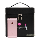 大容量韓國化妝包可愛小號方品中袋隨身便攜手提收納盒簡約化妝箱「時尚彩紅屋」