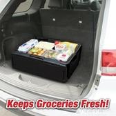 戶外摺疊保溫箱野餐燒烤60L大容量收納箱食品恒溫箱車載冰箱出口 聖誕節鉅惠ATF