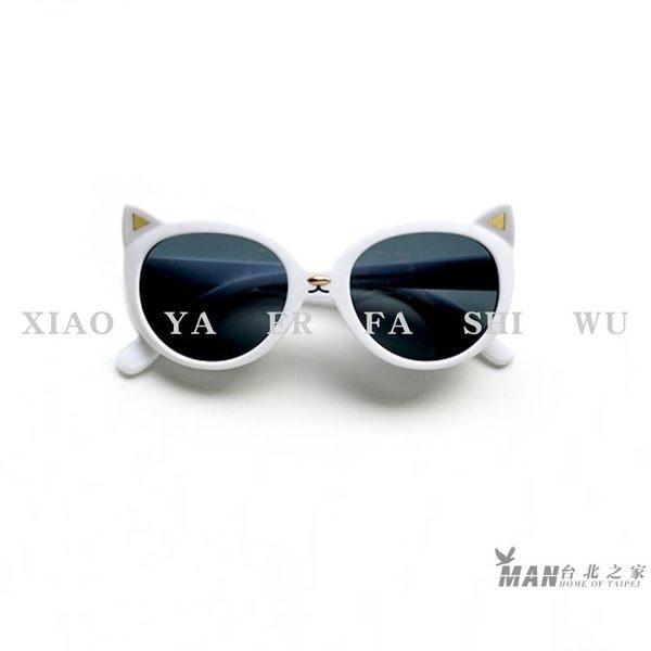 兒童太陽眼鏡 新款寶寶太陽鏡 粉色貓咪2-6歲女童防曬遮陽防紫外線墨鏡