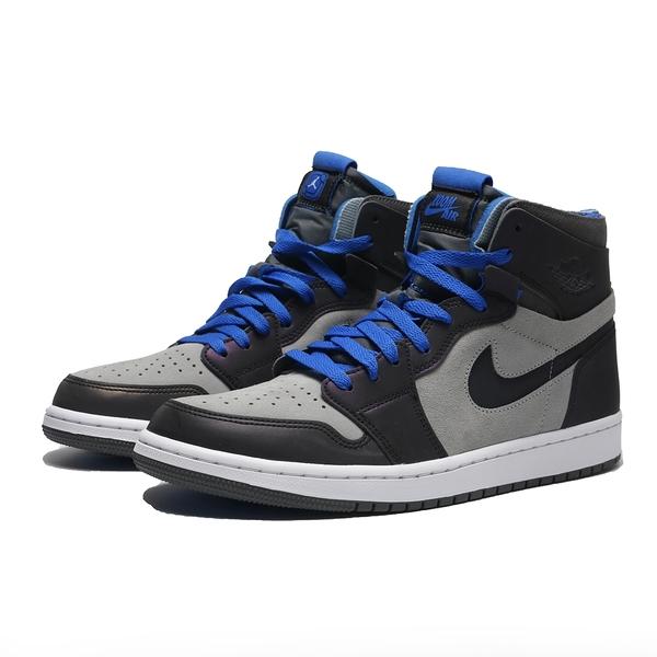 NIKE 籃球鞋 AIR JORDAN 1 X LPL ZOOM 英雄聯盟 灰藍 反光 3M AJ1 1代 高筒 男 (布魯克林) DD1453-001