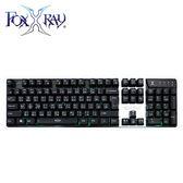 【FoxXRay 狐鐳】白炎戰狐電競鍵盤 BKL-15