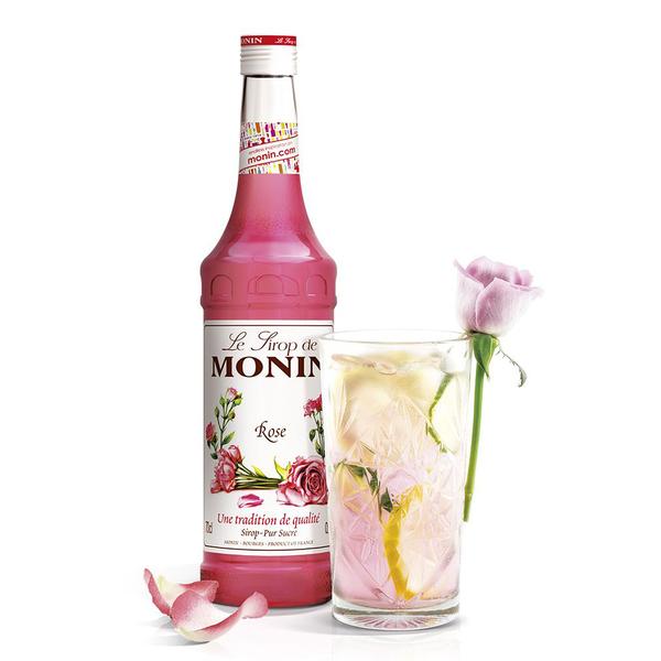 Monin糖漿-玫瑰700ml (專業調酒比賽 及 世界咖啡師大賽 指定專用產品)