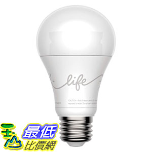 [107美國直購] 智能燈泡 C by GE 44301 A19 C-Life Smart LED Light Bulb by GE Lighting, 1-Pack