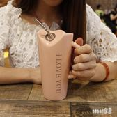 馬克杯 創意可愛簡約個性陶瓷喝水大容量男女辦公室家用杯 df2654【Sweet家居】