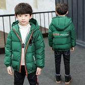 童裝男童羽絨棉服冬裝2018新款加厚男孩棉襖外套潮衣中大兒童棉衣  韓風物語