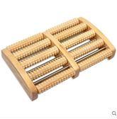 木質家用腳底按摩器滾輪式實腳部足部穴位搓排木制足底按摩器『小淇嚴選』
