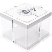 透明生日蛋糕盒加高西點盒烘焙包裝