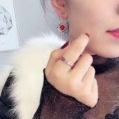戒指 日韓鈦指戒指女玫瑰金情侶指戒指環食指戒男指戒個性潮刻字飾品【快速出貨】