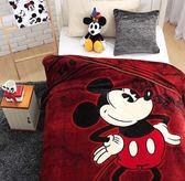 咖啡米奇-保暖法蘭絨毯(大件)走進迪士尼世界