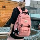 後背包 初中生書包女韓版高中原宿ulzzang中學生大容量2020年新款後背包 愛麗絲