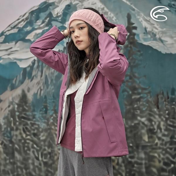 ADISI 女輕薄3L防水透氣連帽外套AJ2021019 (S-2XL) / 城市綠洲 (超撥水 防風 透濕 防水外套 戶外機能)
