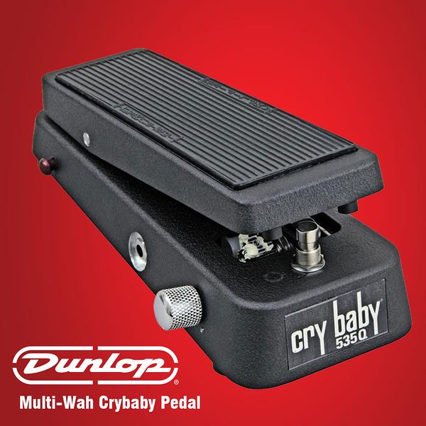 小叮噹的店 - 效果器 哇哇踏板 Dunlop 535Q-B 黑色 Cry Baby Wah