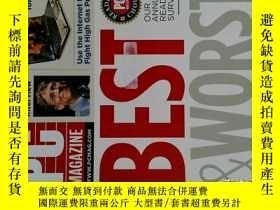 二手書博民逛書店PC罕見Magazine 2008年9月 英文個人電腦雜誌 可用樣板間道具雜誌Y14610