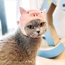 寵物豬豬頭套青蛙頭可愛貓咪