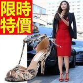 涼鞋-高跟好穿清新夏季典型女休閒鞋2色56l16[巴黎精品]