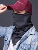 防風面罩抓絨保暖頭巾防風面罩圍脖套騎行男女戶外摩托車冬季防寒(一件免運)