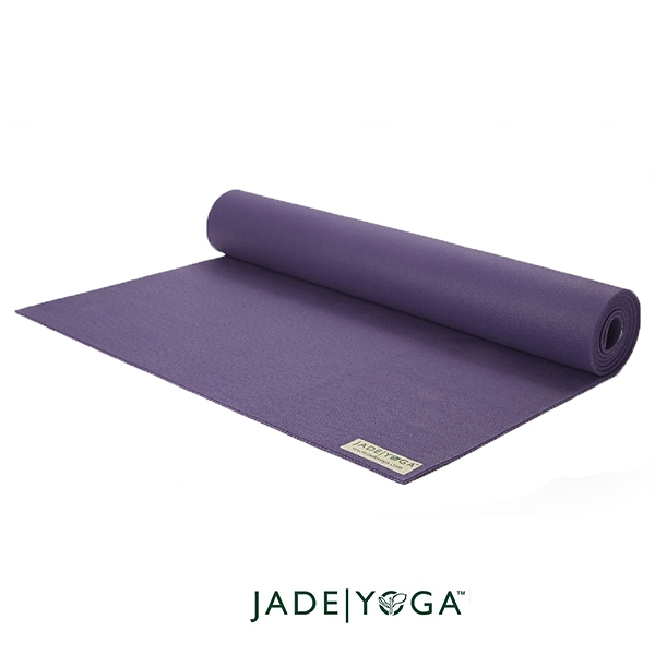 Jade Yoga 天然橡膠瑜珈墊 Harmony Mat 4.8mm 173cm - 深紫色