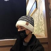 帽子男冬天韓版潮保暖毛線帽加絨加厚針織帽男秋冬青年學生瓜皮帽 韓國時尚週