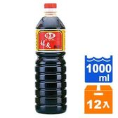 味王 婦友醬油 1000ml (12入)/箱【康鄰超市】