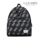 後背包 獨特波紋點點印花A4大容量書包-La Poupee樂芙比質感包飾 (預購+好禮)