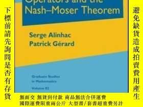 二手書博民逛書店Pseudo-differential罕見Operators And The Nash-moser Theorem