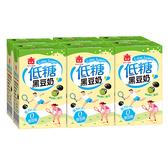 M-義美低糖黑豆奶250ml*6【愛買】