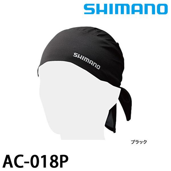 漁拓釣具 SHIMANO AC-018P 黑 (吸水速乾UV頭巾)