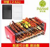 電燒烤爐韓式家用不粘電烤盤無煙烤肉機室內鐵板燒烤肉YYP 蓓娜衣都