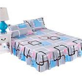 床包席夢思床罩床裙式床套單件床墊罩保護防塵防滑1.5m1.8米床單床笠【博雅生活館】