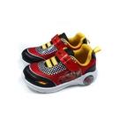 Disney x Pixar 迪士尼x皮克斯 閃電麥坤 運動鞋 電燈鞋 中童 童鞋 紅 D20456 no029
