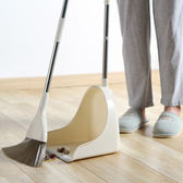 ♚MY COLOR♚掃把大簸箕組合兩件套 家用 套裝 居家 地板 清潔 笤帚 掃頭髮 軟毛掃帚【Z87】