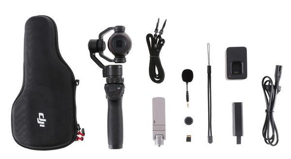 呈現攝影-DJI OSMO+ 4K攝影機+手持穩定器 3.5倍光學變焦 手持雲台相機  縮時 防震 微電影 自拍