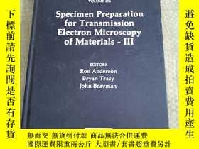 二手書博民逛書店Specimen罕見Preparation for Transmission Electron Microscop