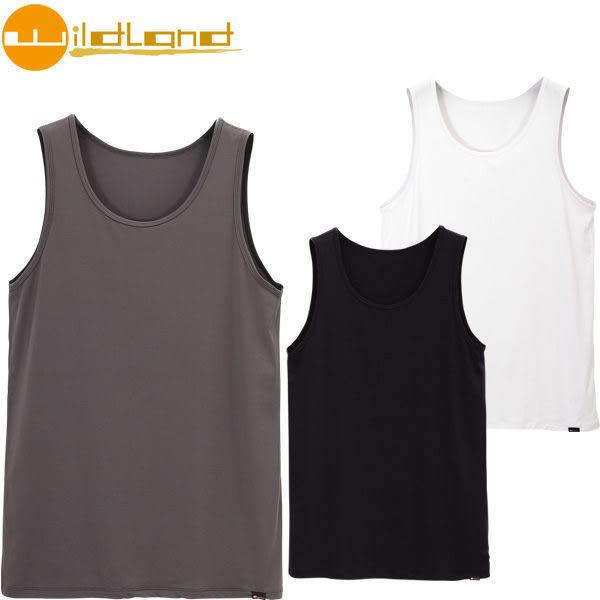 荒野 Wildland 冰涼透氣排汗背心內衣 ~ 2色 W1688 (男) 灰色下單區