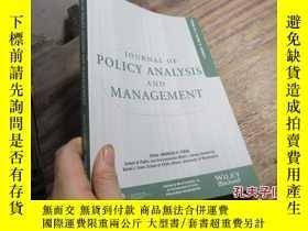 二手書博民逛書店journal罕見of policy analysis and
